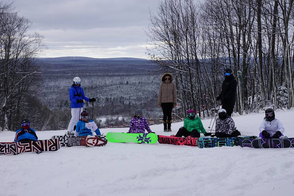 Boarders on the hill, Indianhead